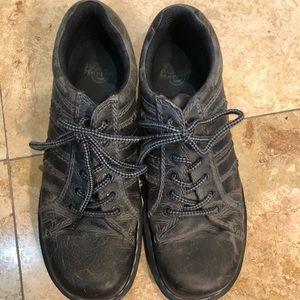 Grey Dr Marten shoes Sz 10.5